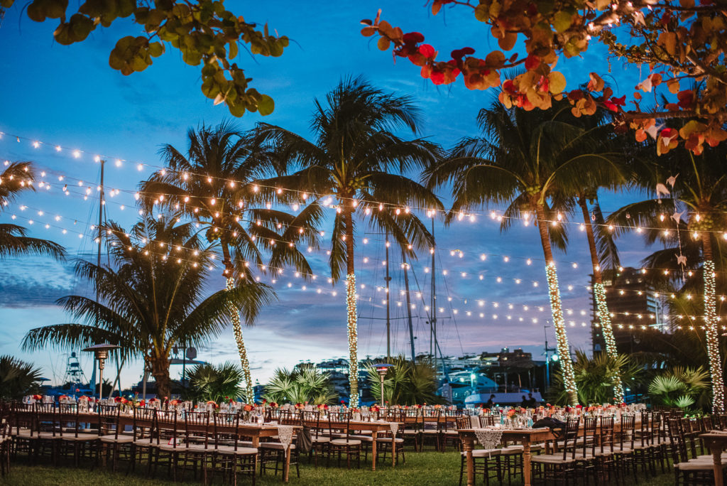 BISCAYNE BAY YACHT CLUB WEDDING