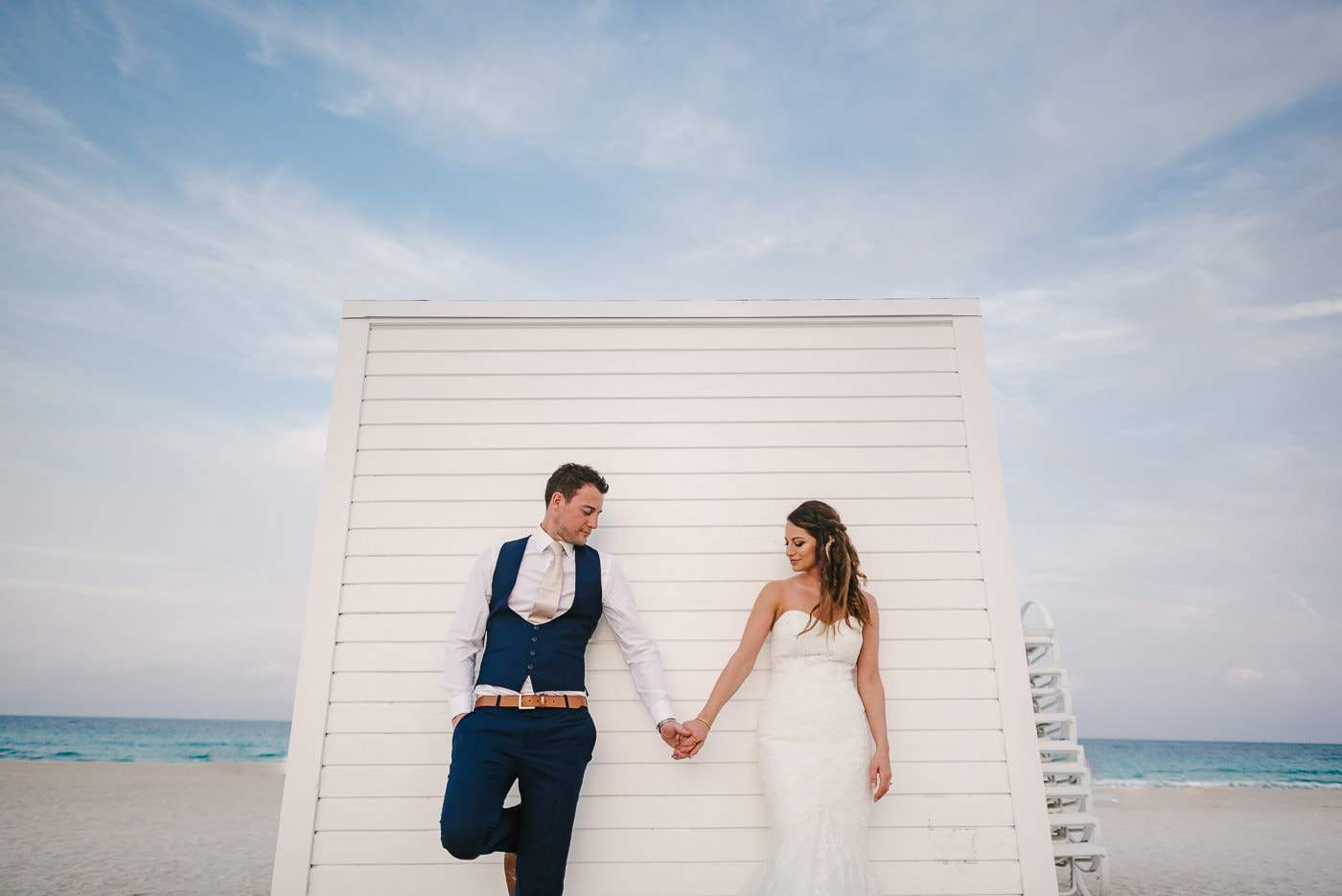 perfect south beach wedding