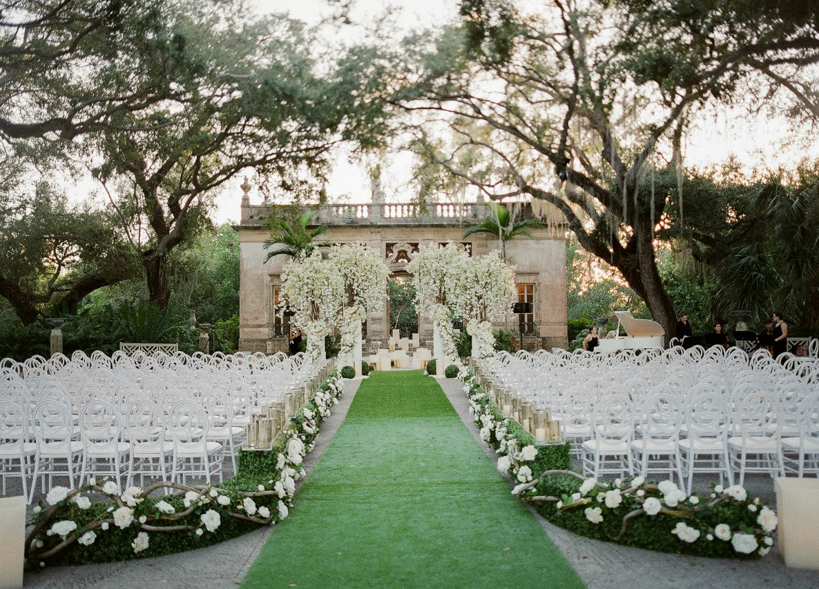 Ultra Sophisticated Wedding at Vizcaya